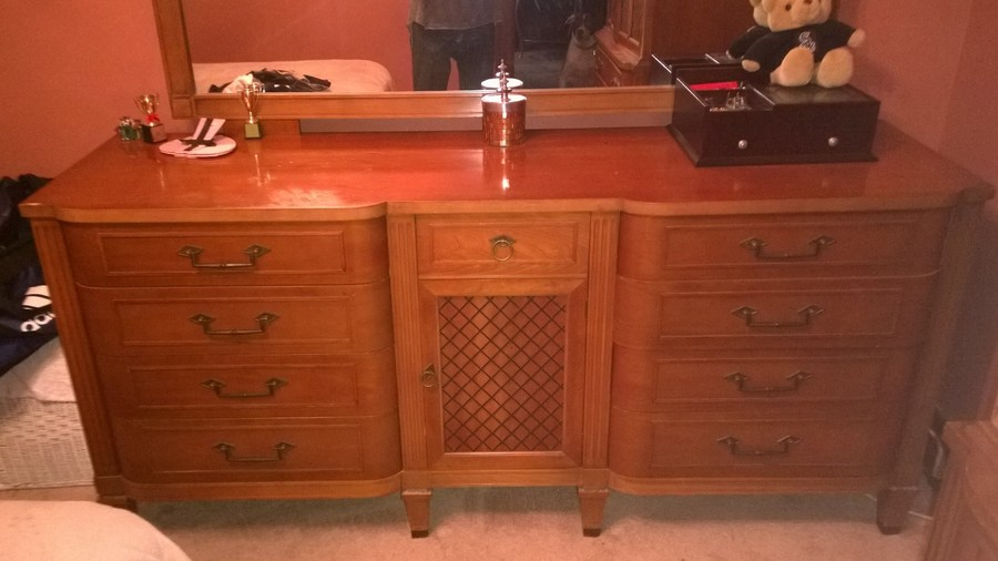 Mid 1950s Bedroom Set With No Markings My Antique