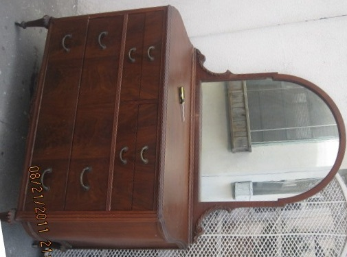 Gettysburg Chest Of Drawers And Bureau With Mirror My
