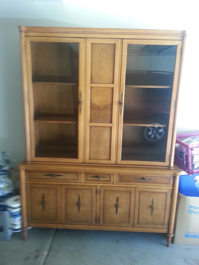 Drexel China Cabinet My Antique Furniture Collection