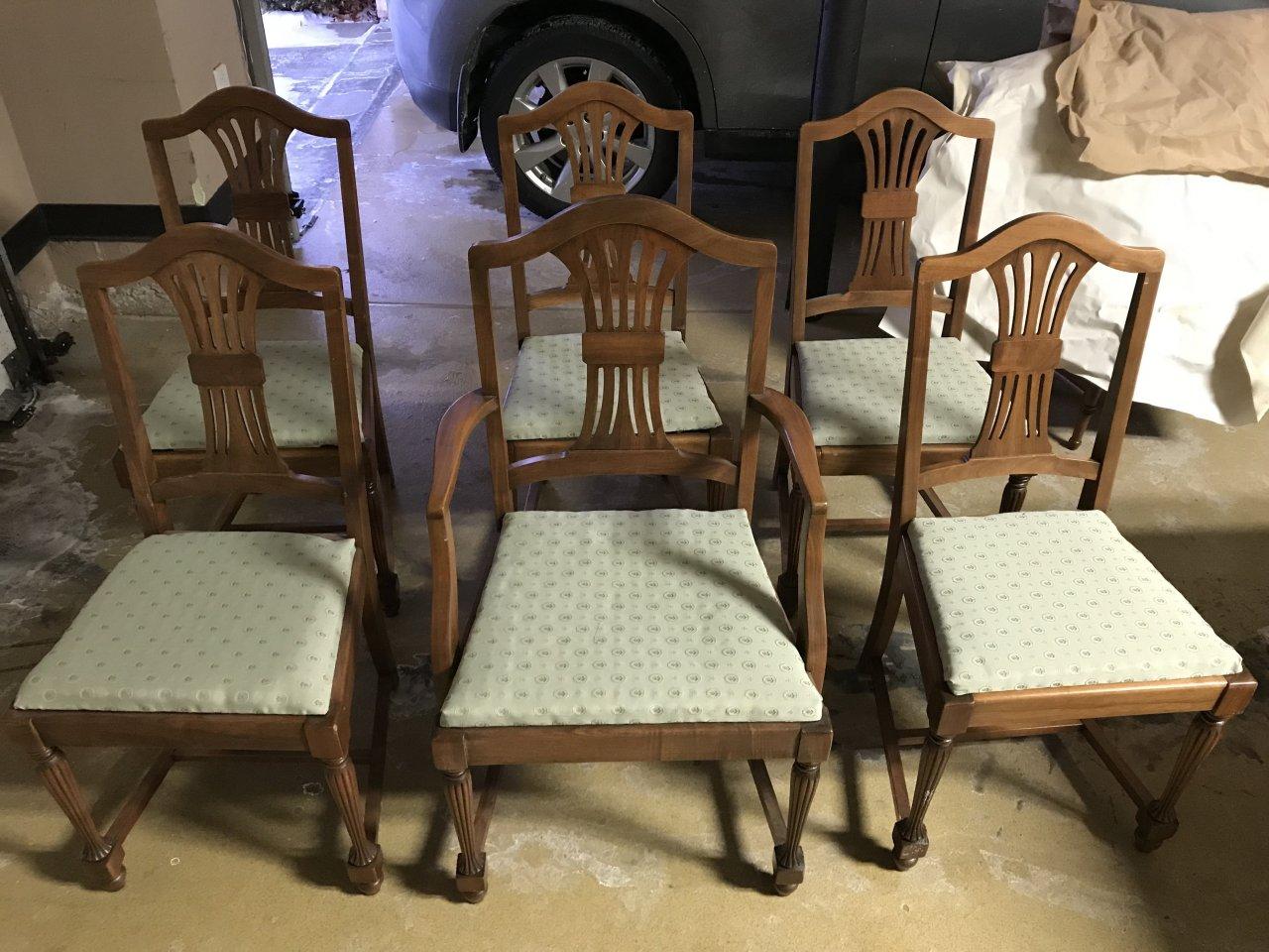 John M Smyth Co Chicago Dining Set My Antique Furniture