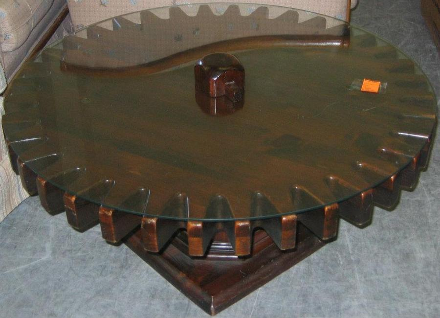 What Is A Ethan Allen Cogwheel Coffee Table Worth From The