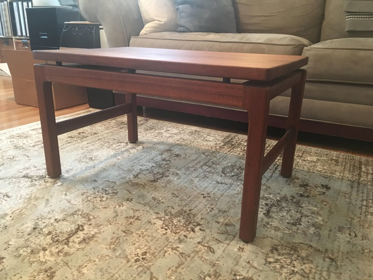 I Have A Small Coffee Table By W.H. Gunlocke, Its In Great  Shape...wondering If Anyone Knows The Time Period And What It Might Be  Valued At?