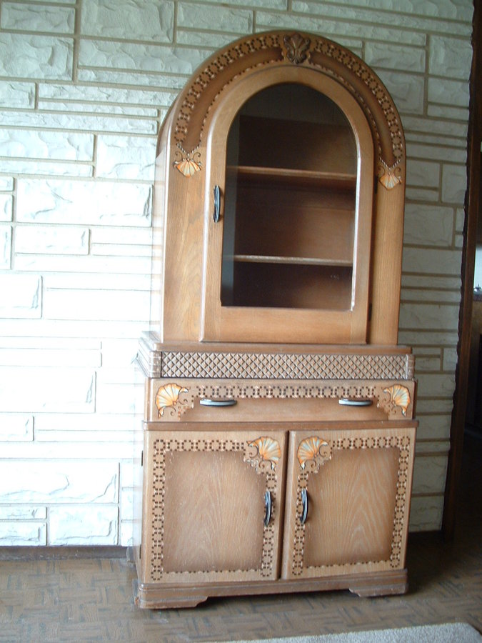 Any Value In Keeping This China Hutch As Is My Antique