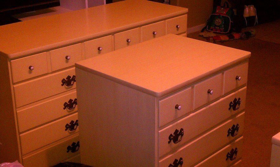 I am trying to find a fair market worth for the entire collection  and from  reading other posts in the forum I have gathered that it is from the  Beecher. I Have A Complete Collection Of Ethan Allen Bedroom Furnitur