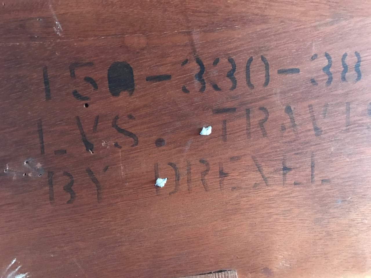 I Have A My Grandmothers Drexel Travis Court Dining Table And 6 Chairs Am Wondering What Year It Was Produced The Value