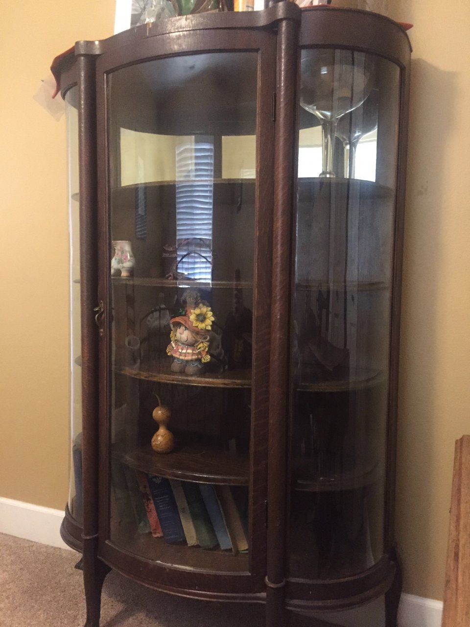 How Much Is This Late 1800 Early 1900 S China Cabinet