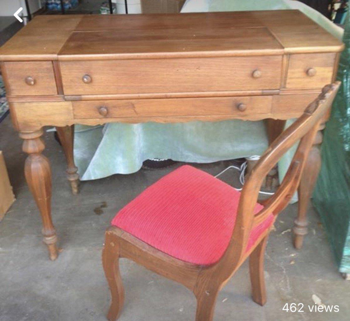 Requesting Est Period Value Antique Writing Desk