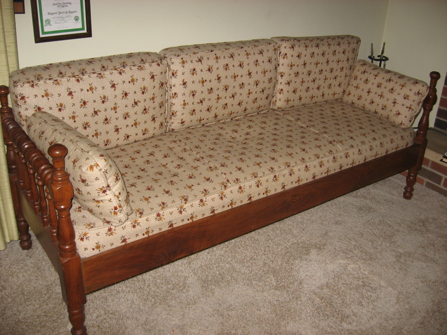 Ethan Allen Solid Pine Sofa Day Bed My Antique Furniture