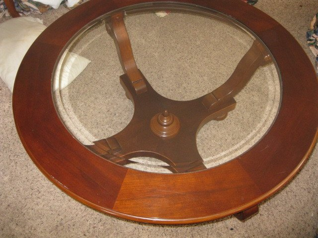 Bought An Ethan Allan Glass Coffee Table Paid 0 Good Buy My Antique Furniture