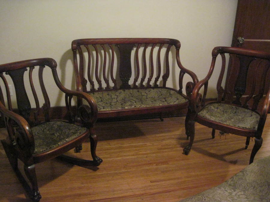Settee Parlor Set My Antique Furniture Collection