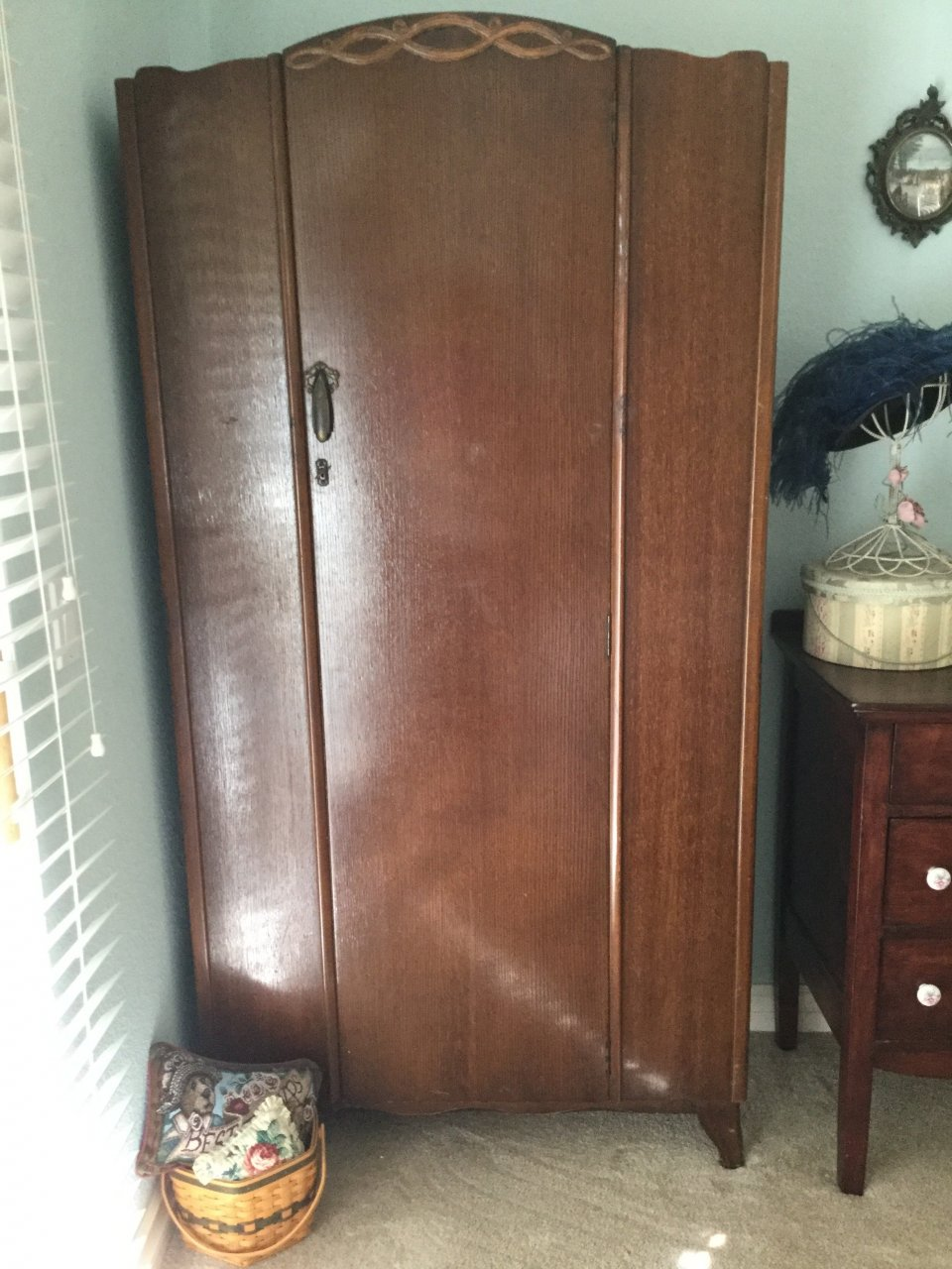 I Have A Lebus Armoire, It Looks Like It Was Made To Be A Childu0027s Closet,  W... Guest 8 Months Ago
