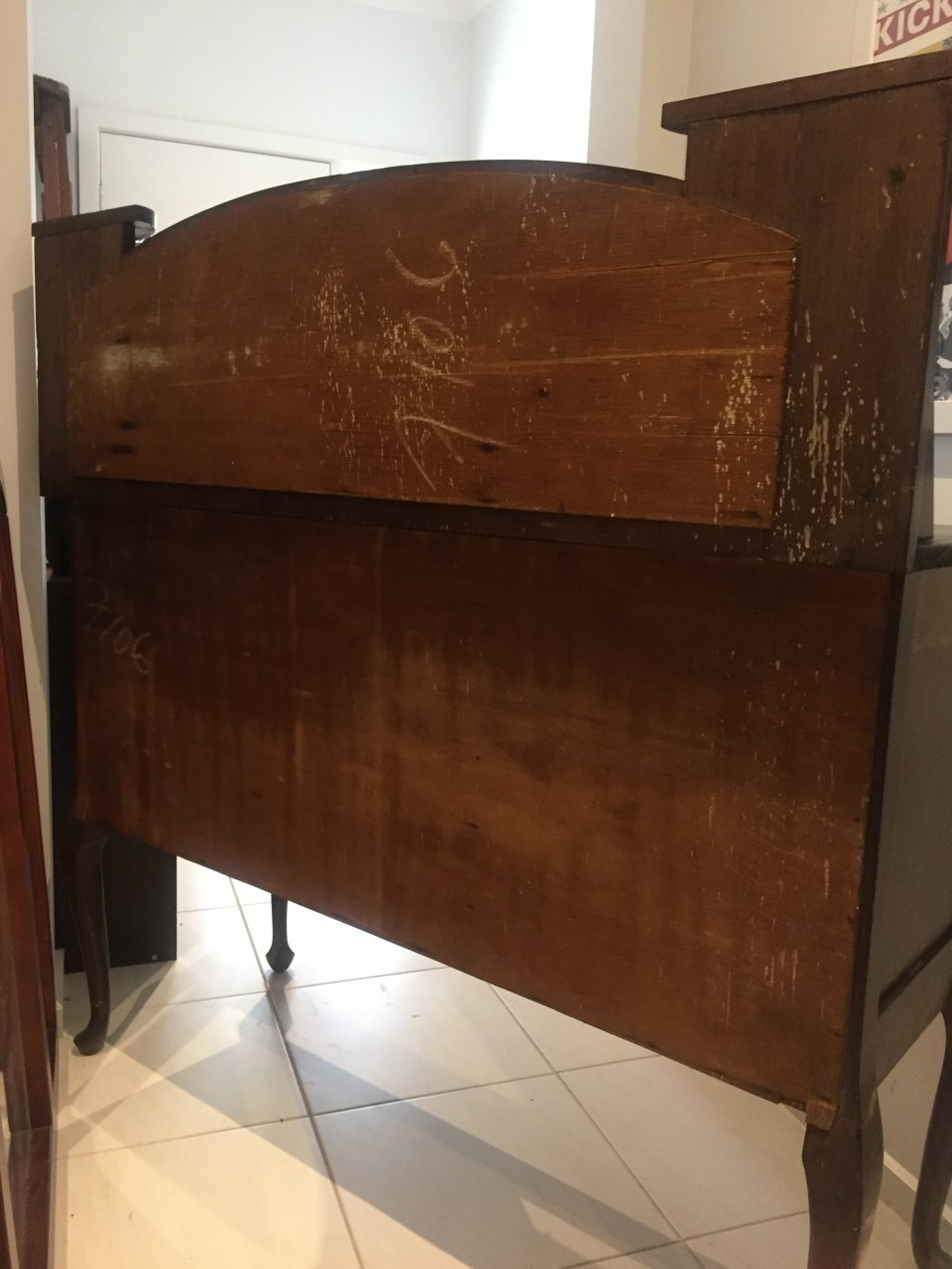 Determining The Approx Age Of My Antique Dresser With