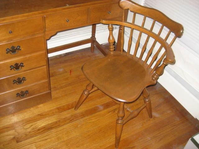 Ethan Allen Desk My Antique Furniture Collection