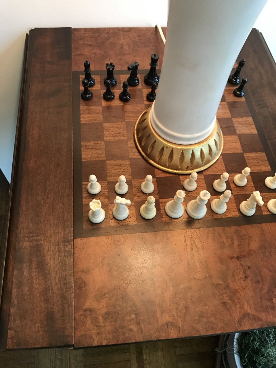 How Much Is A Century Furniture Company Chess Table With