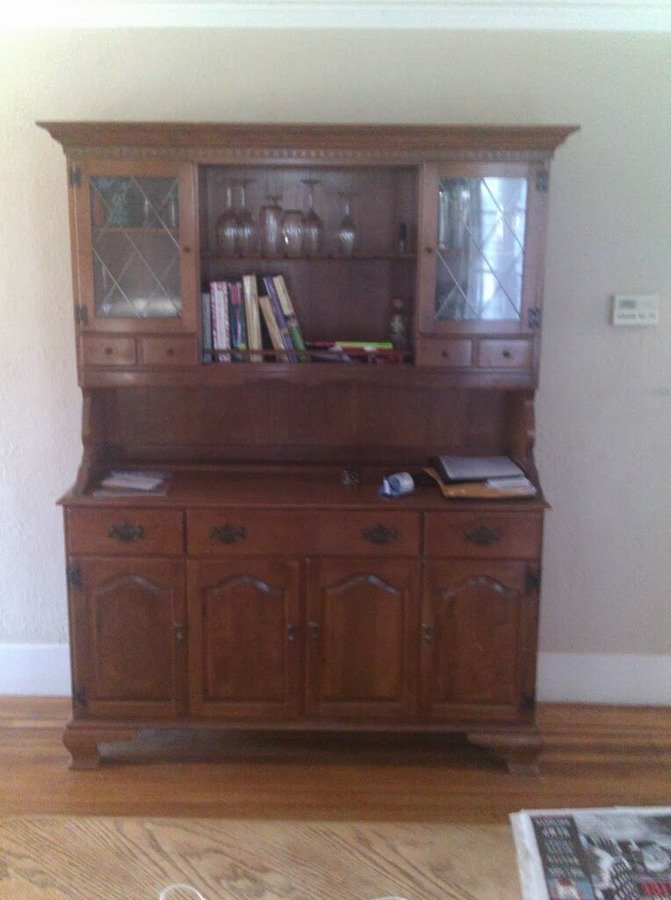 Ethan Allen By Baumritter Made In Vermont Hutch My
