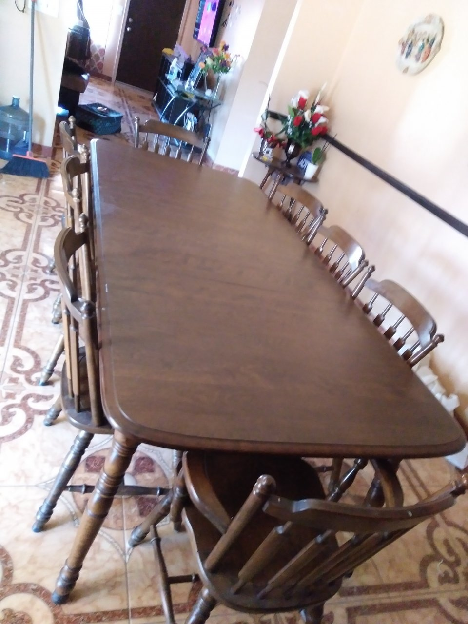 Hi I Have A China Cabinet And Dining Table Made By Early American Temple St My Antique