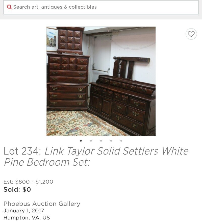 Link Taylor Settlers Pine My Antique Furniture Collection