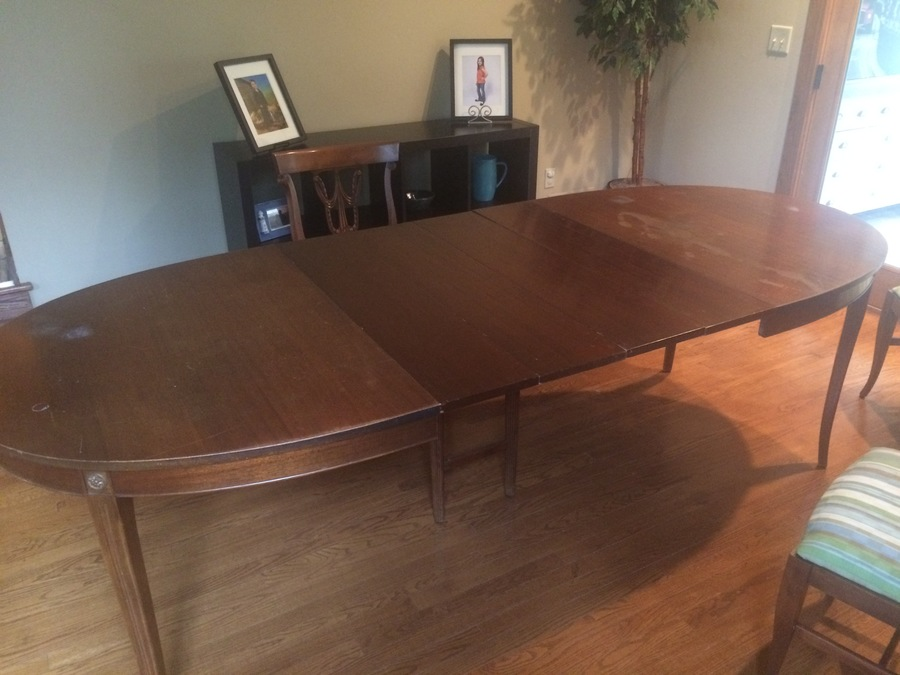 What Is It Worth Hello I Have An Rway Dining Table Set