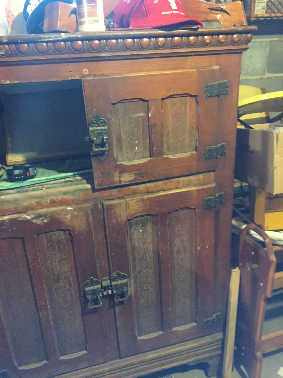 Large Alaska Ice Box My Antique Furniture Collection