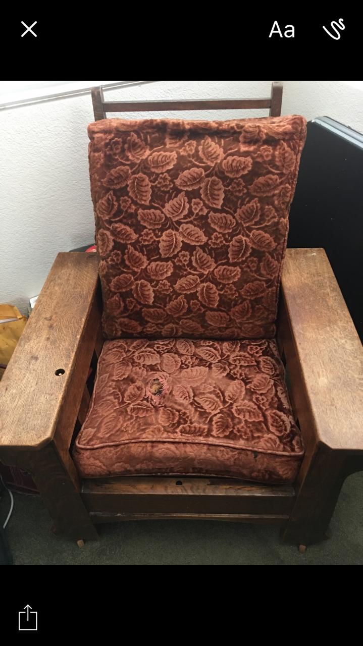 Royal Oak Manual Recliner Chair My Antique Furniture