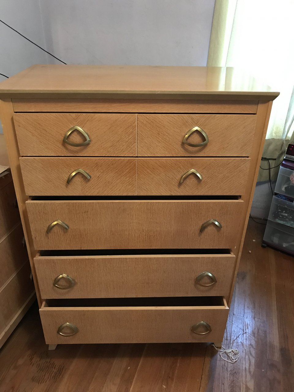 1940's Bedroom Set. My Antique Furniture Collection
