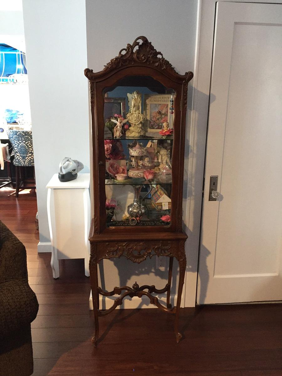 John M Smyth Carved Curio Cabinet My Antique Furniture