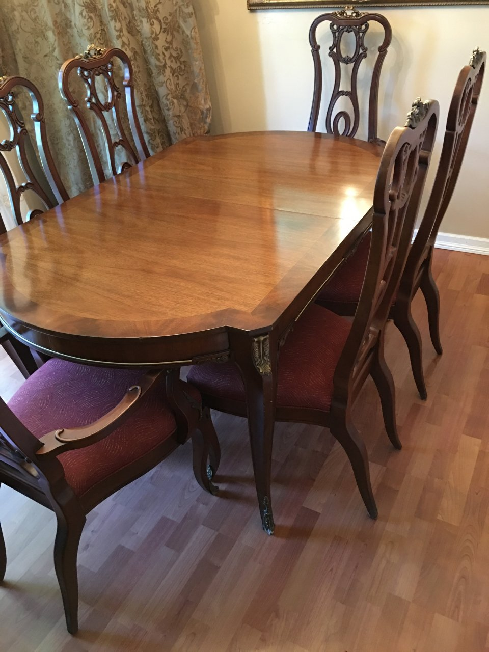 I Have Beautiful Antique 1948 Metz Dining Set Table And 6 Chairs Which We