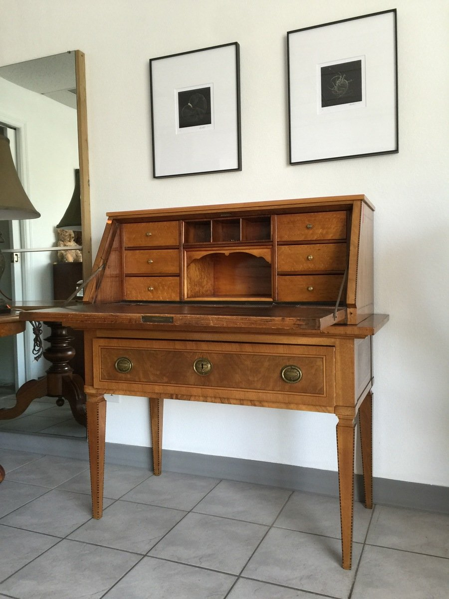 American Made Furniture >> Looking To Identify This Secretary Desk That Belong To My ...