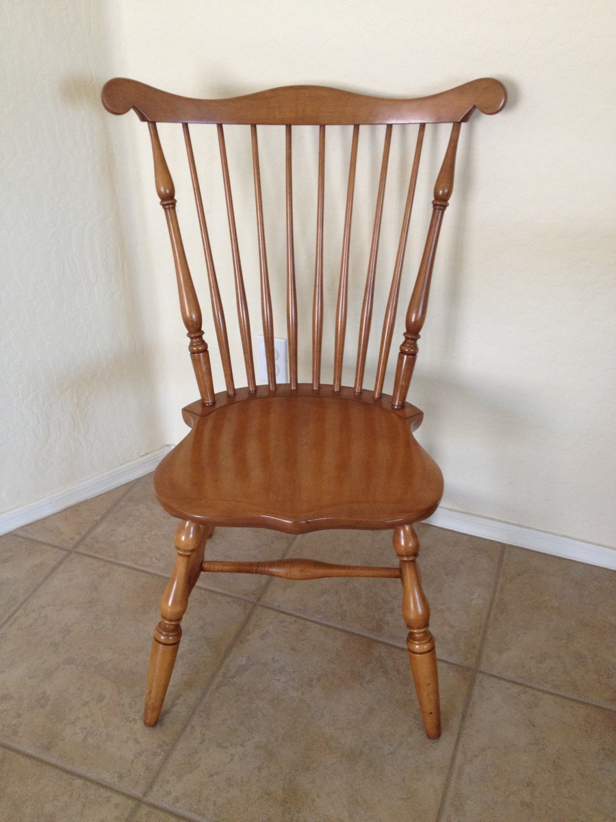 Conant Ball Drop Leaf And 8 Windsor Chairs My Antique