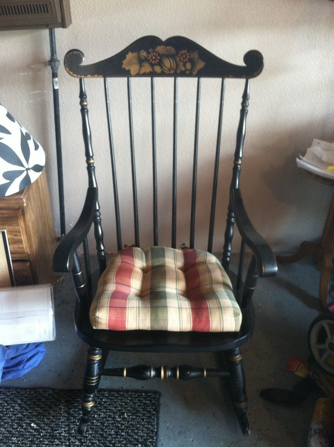 Kling Concord Rocker My Antique Furniture Collection
