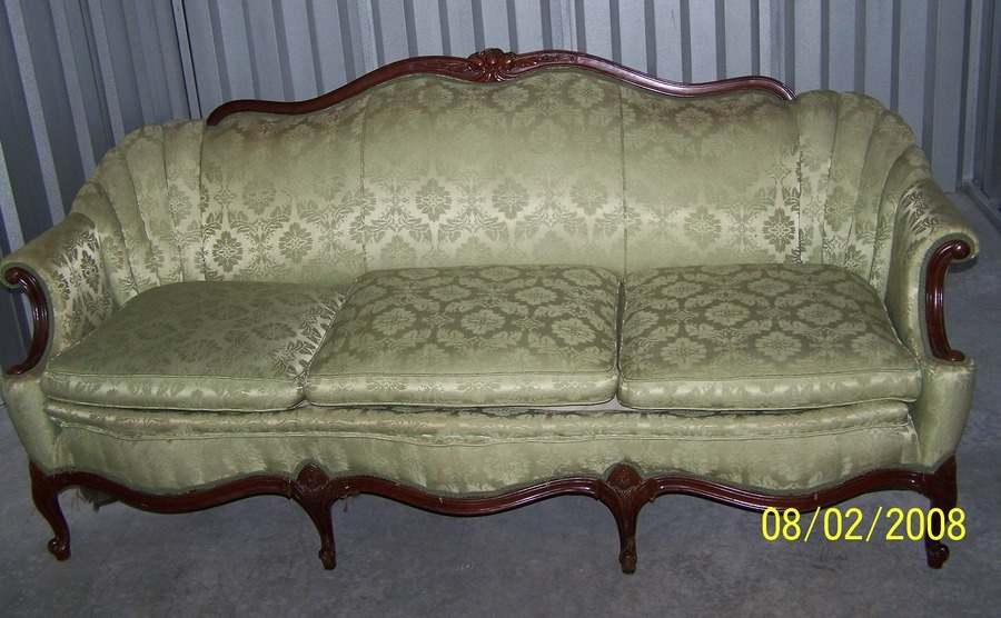 help identify couch what is the style my antique. Black Bedroom Furniture Sets. Home Design Ideas