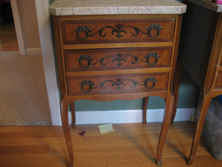 Need To Identify Marble Top Side Tables My Antique