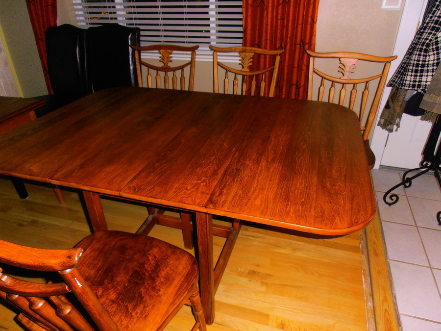 My Drop Leaf Table I Think Maple Has 7114 Whit Map