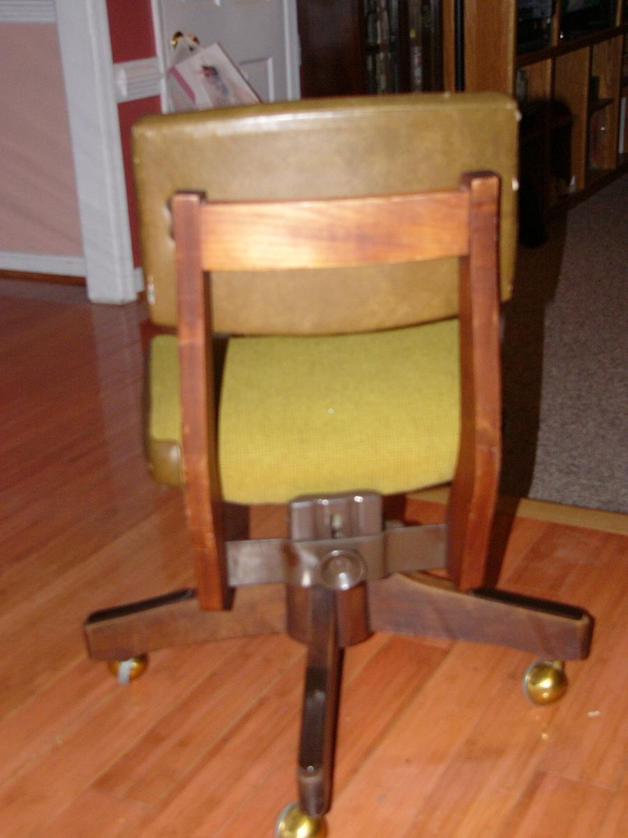Vintage Desk Chair Wood