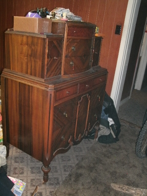 Art Deco Joerns Brothers Tall Dresser Value It Is In