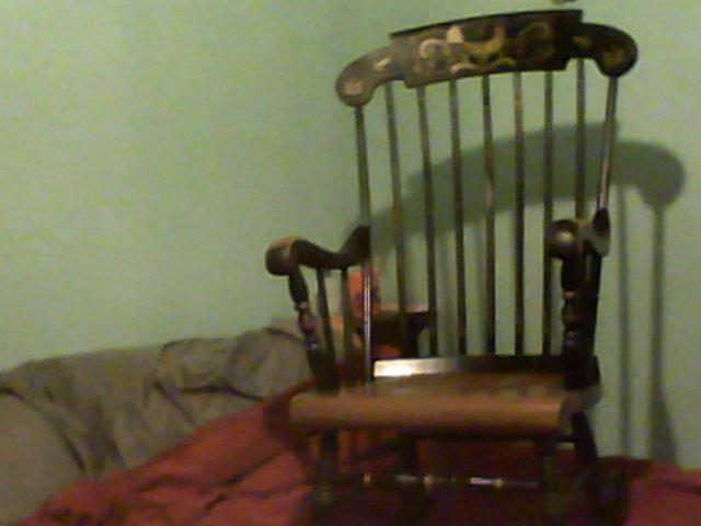 Antique Rocking Chair Needs Identifying My Antique