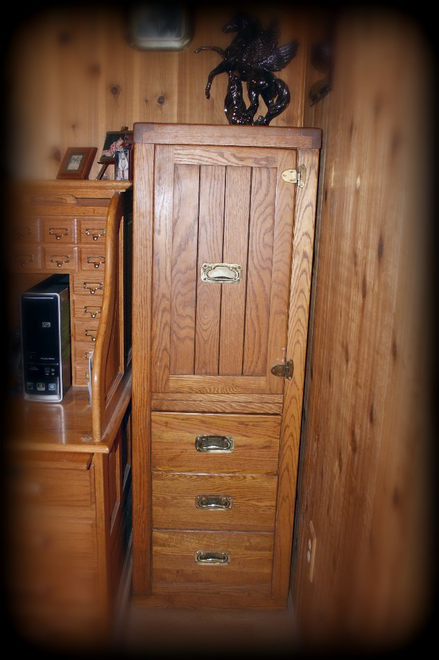 Young Hinkle Office Armoire