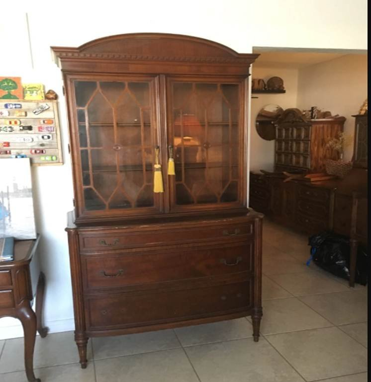 I Have This Flint And Horner Cabinet It Looks Old But I