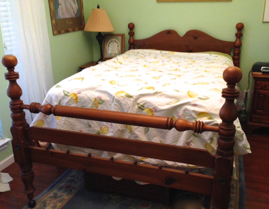 in footboard to itm queen full s hook headboard conversion rails frame size bed ebay and