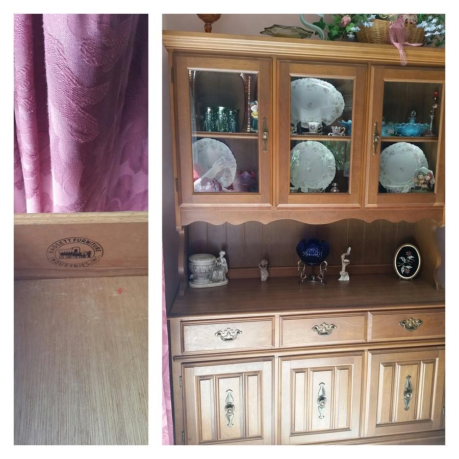 Help Identify A Bassett Furniture Hutch