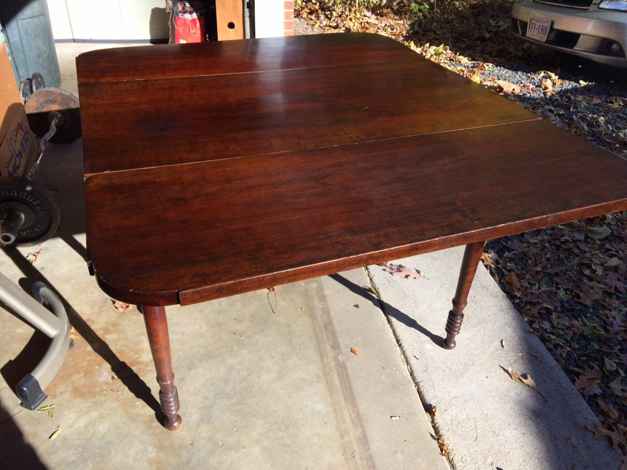 Request Help Identifying Drop Leaf One Drawer Table