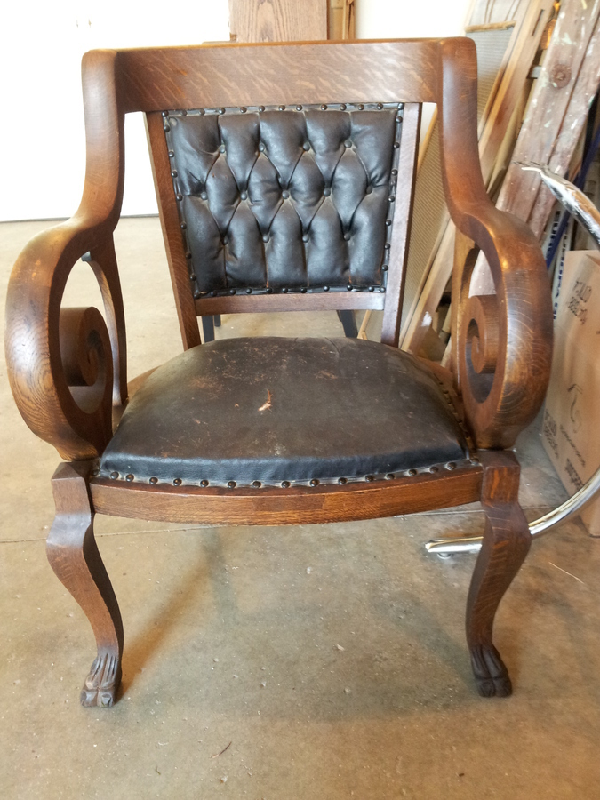 Found these unique pieces at an auction and just loved for Found furniture