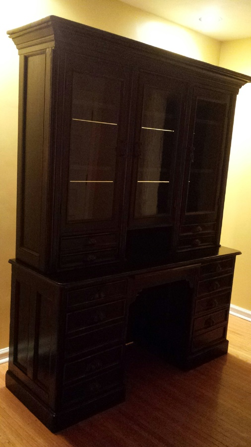Does Anyone Know How Much My Hutch Is Worth Its A Black