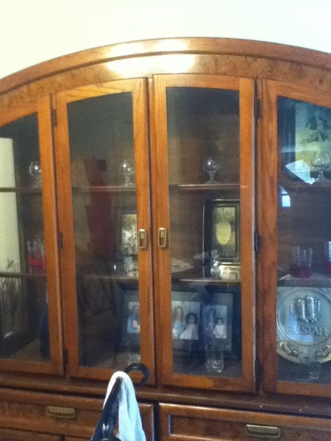 Broyhill China Cabinet My Antique Furniture Collection