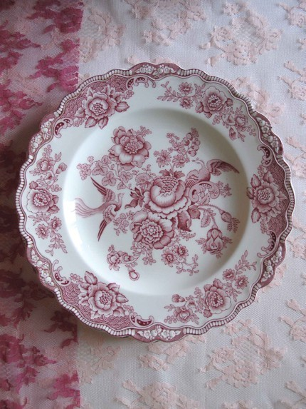 How Much Does It Cost To Replace >> Bristol Crown Ducal England Mulberry China Set I Recently ...