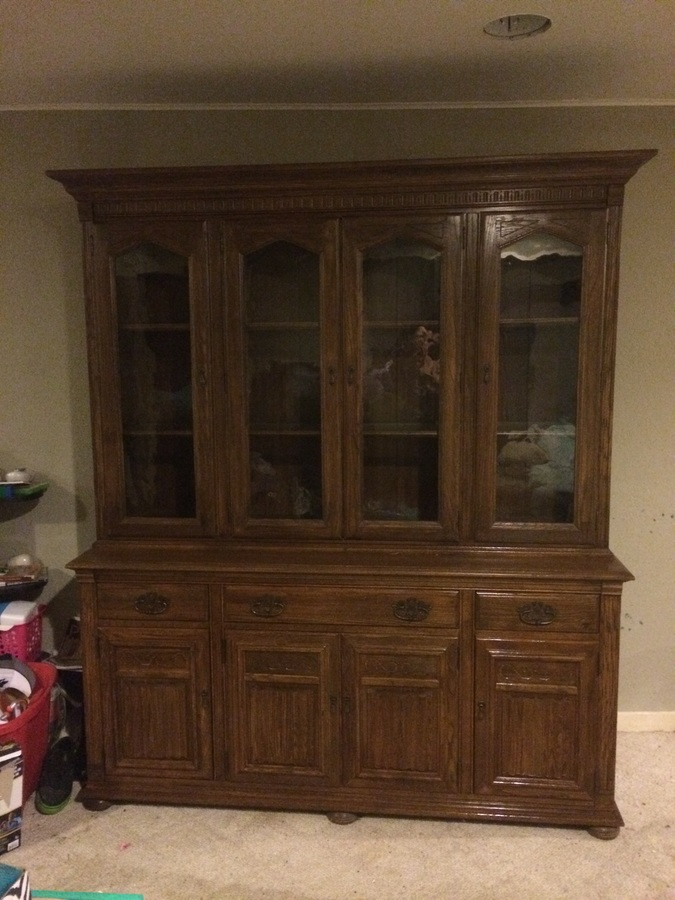 Ethan Allen Hutch Value My Antique Furniture Collection