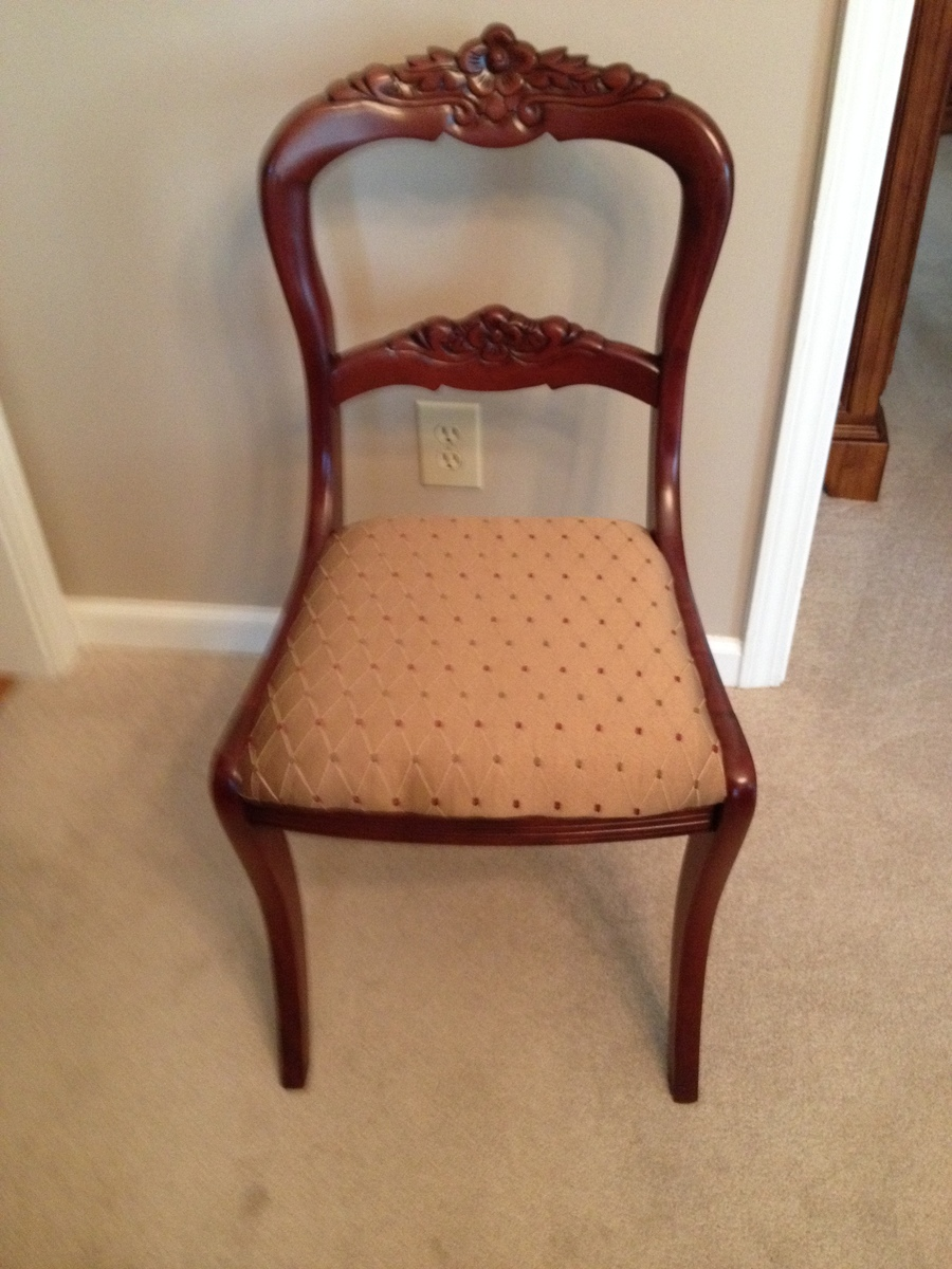 Tell City Mahogany Duncan Fyffe Chairs My Antique