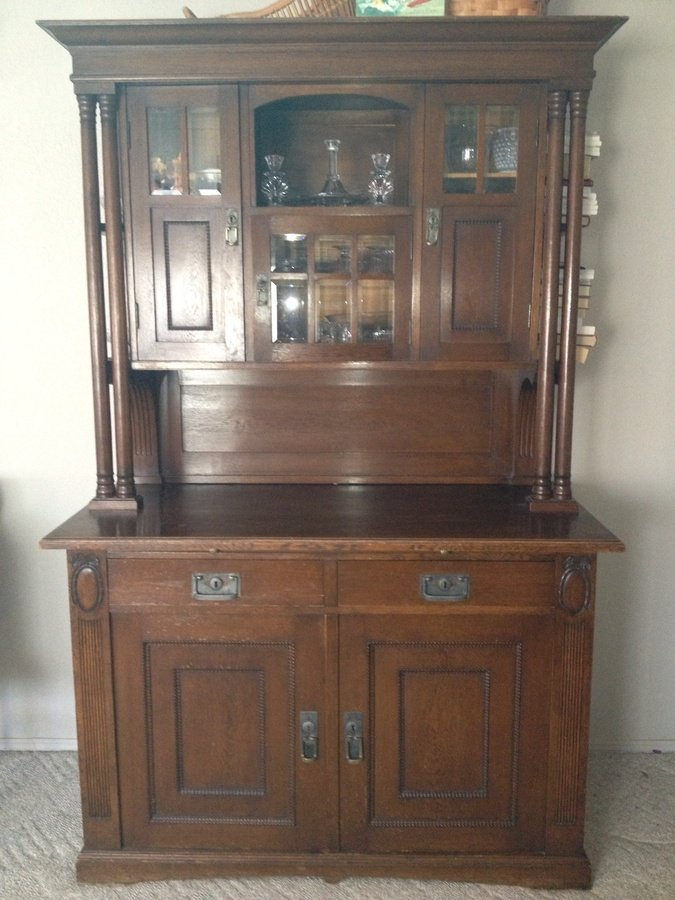 German Made Hutch My Antique Furniture Collection