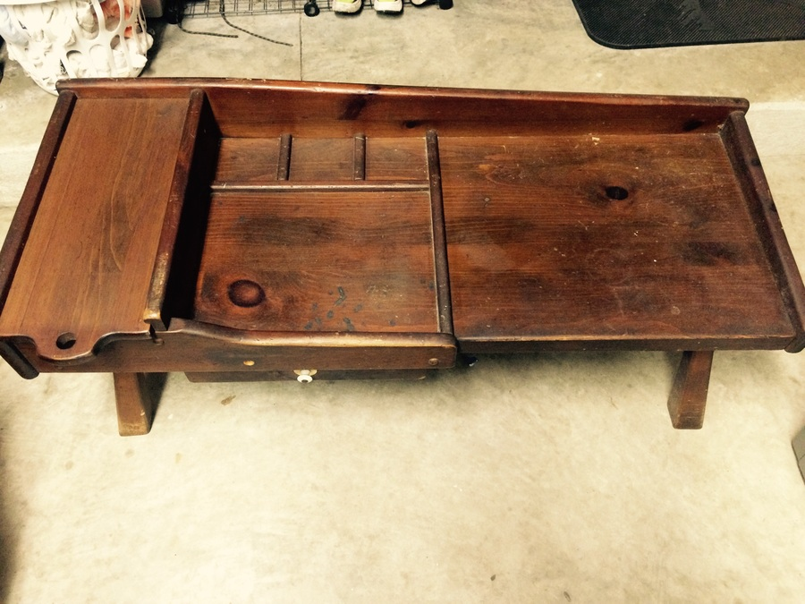 I Have An Ethan Allen Cobblers Bench I D Like To Know