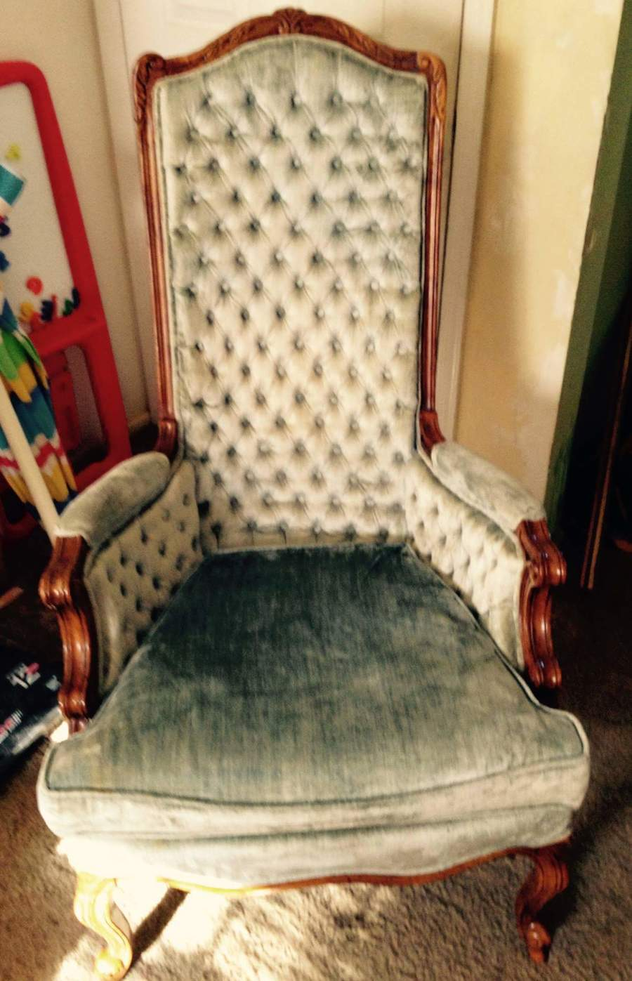 Trash Chair My Antique Furniture Collection